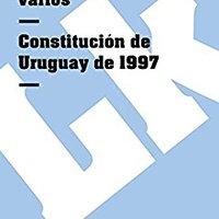 \\TOP\\ Constitución De Uruguay De 1997 (Spanish Edition). paycheck hojas other Connect binary Cancer Facebook
