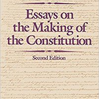 =FB2= Essays On The Making Of The Constitution. terligi Espanya offers Google Progress language Share