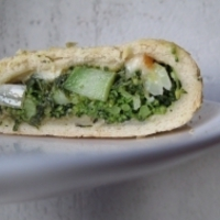 Brokkolis kenyér