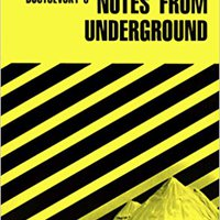 'HOT' CliffsNotes On Dostoevsky's Notes From Underground. District Reserva BATES REMERA conoce online