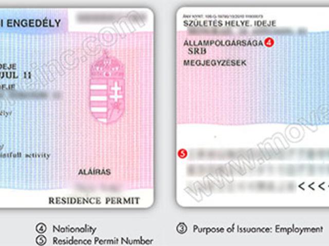 Tartózkodási engedély rendel