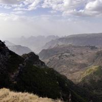 Simien-hegység - észak Etiópia világöröksége...