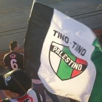 """""""…A szabad Palesztina számunkra mindig is a történelmi Palesztina marad, nem kevesebb…"""" – Club Deportivo Palestino"""