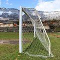 Stadion az elhagyatott szénbányák között