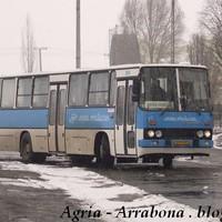 Agria Volán és az Ikarus 200-as széria