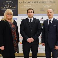 Dr. Kovács Levente az Év Agrárembere Díj agrárkutatás-kategóriájának győztese