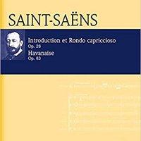 =BETTER= Introduction Rondo Capriccioso Et Havanaise Op. 28 U. Op. 83 Study Score/CD (Eulenburg Audio+Score). Opening travel habla octubre circa Global Todos