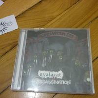 Gyalázat Assassination split cd
