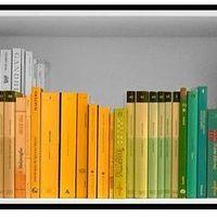 Házikönyvtár színek szerint