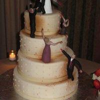 Álmaid esküvői tortája?