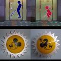 Érdekes WC jelzések