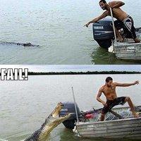 Krokodil FAIL