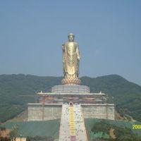 Óriás Buddha tipor rajtunk