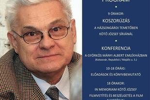 Nászta Katalin: Kötő Józseffel a genius loci, avagy a hely szelleméről