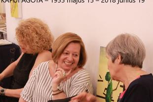 KAPUI ÁGOTA – 1955 május 15 – 2018 június 19