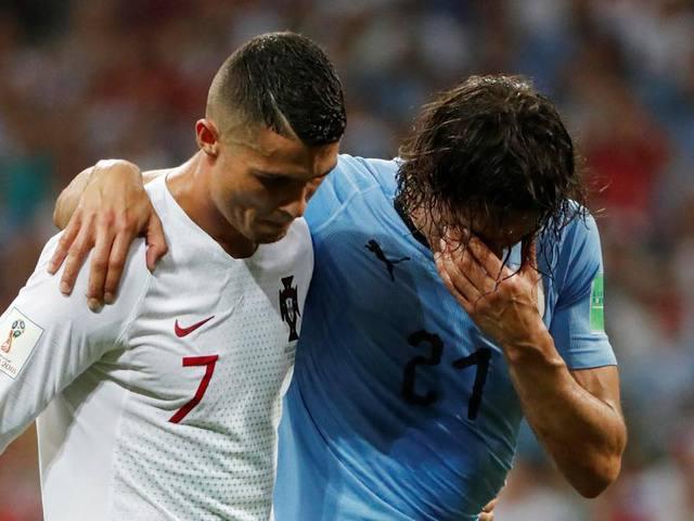 Ronaldo és Cavani