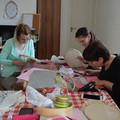 Így hímeztünk mi - ilyen volt a 'Hímzőkeretbe szőtt történetek' workshop