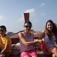 Csónaktúra Krabi partjainál