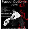 Pascal Guillemin aikido-edzőtábor Belgrádban