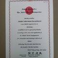 Hombu elismerést kapott az AFD