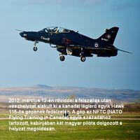 Vészhelyzet a Hawk fedélzetén