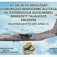 AN-26-OS TALÁLKOZÓ A BALATONNÁL