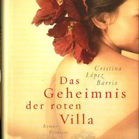 Ajándék könyv nőknek! C. L. Barrio: Das Geheimnis der roten Villa