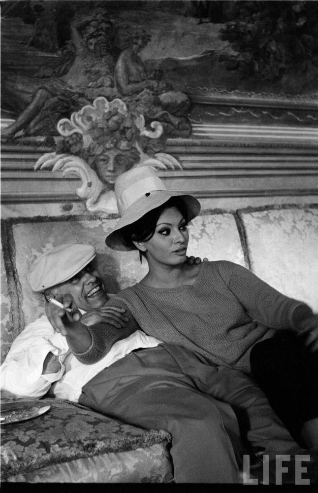 Sophia Loren és Carlo Ponti.
