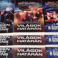 Válaszolj három kérdésre és nyerj Star Trek könyveket!