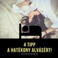 4 tipp hogyan aludj bloggerként