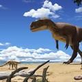Robbantás tárta fel a hatalmas ragadozó dinoszaurusz maradványait