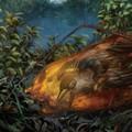 Ősmadár fiókájának maradványait rejtette magában a borostyán