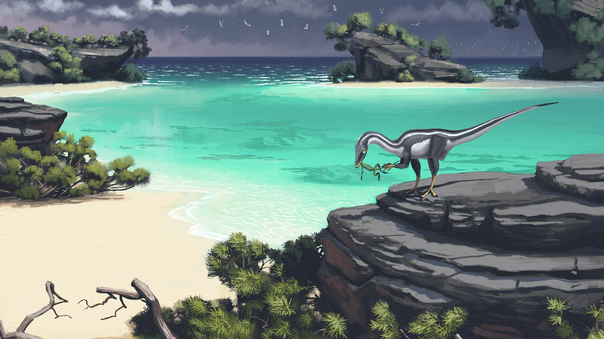 compsognathus_simon_st_lenhag.jpg