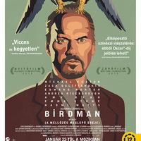 Birdman megjelenés + plakát