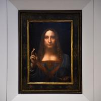 Leonardo da Vinci - Salvator Mundi - Christie's - 2017
