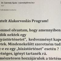 A férjem, dr. Csermely Gyula fogyás, illetve hízástörténete - vettem a célzást :)