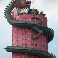 Óriás Sárkány Templom - Wat Samphran