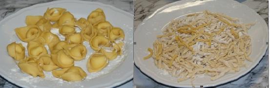 Harmadik nap - Tortellini és strozzapreti