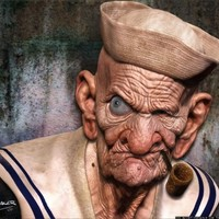 Popeye 3D-ben eszik újra spenótot