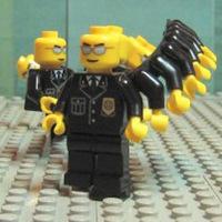 Lego-Neo vs. Smith ügynök