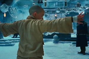 Noah Ringer, mint Aang Az utolsó léghajlítóban