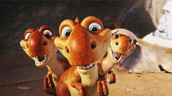 T-rex kölykök