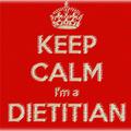 Keep calm I'm a dietitian...