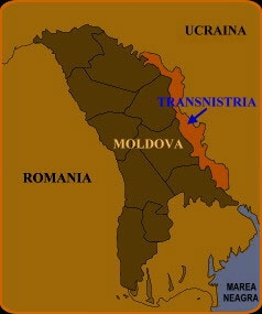 Bukarest - Moldova - PMR