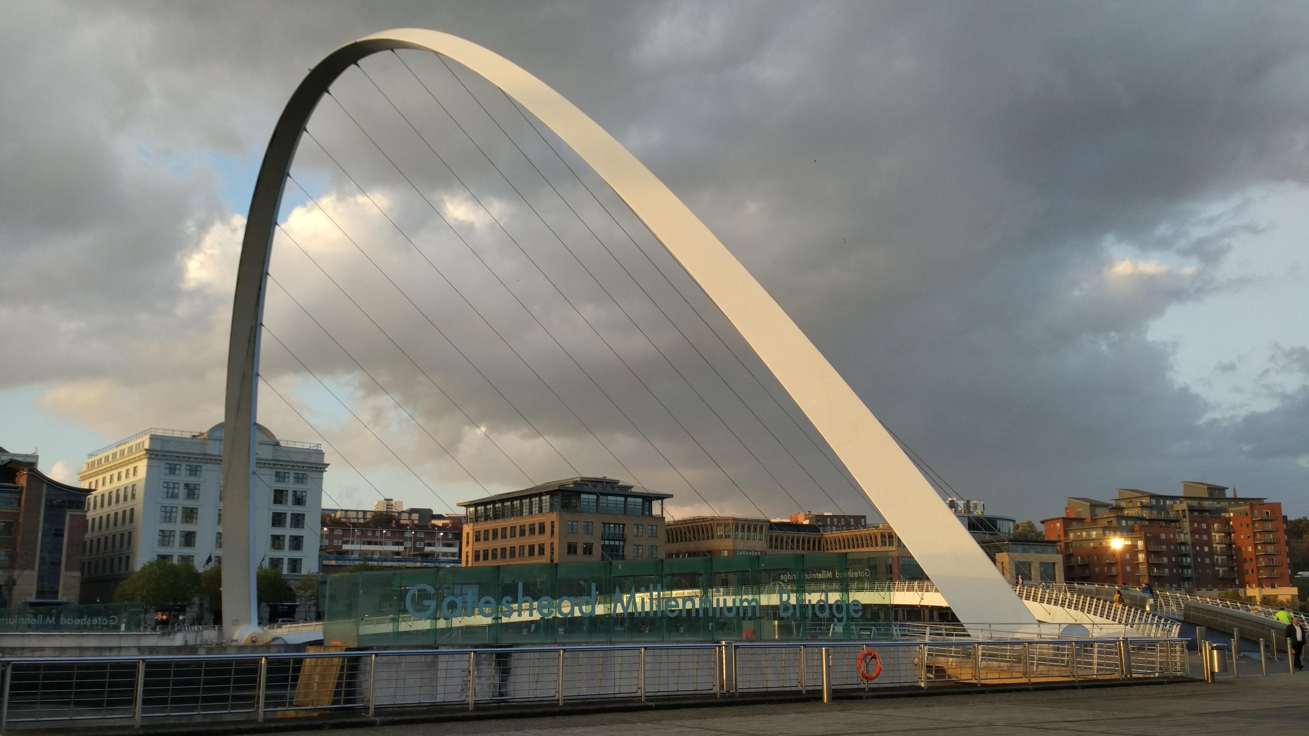 Newcastle, Millenium-bridge