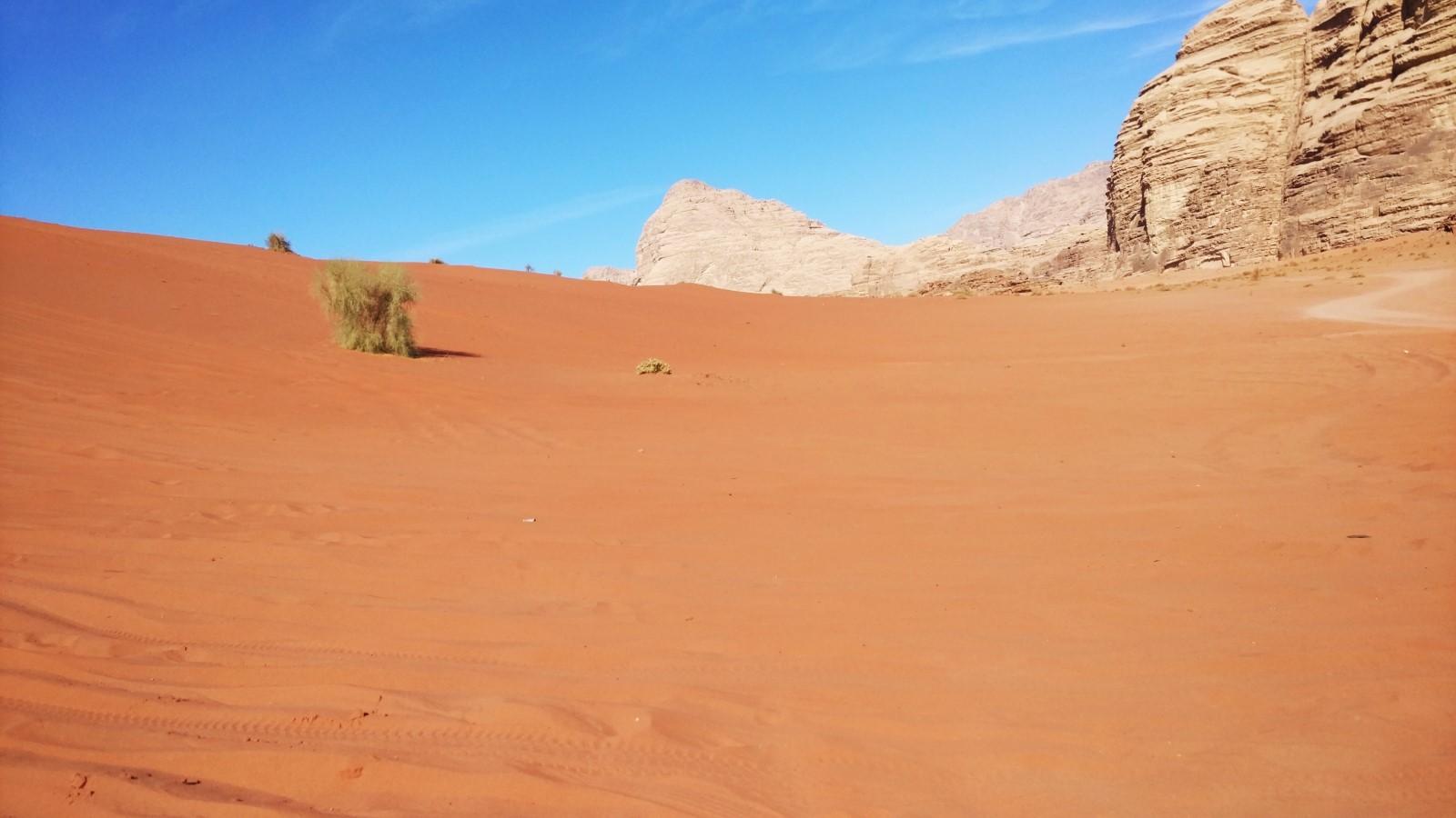 Wadi Rum, a Hold völgye