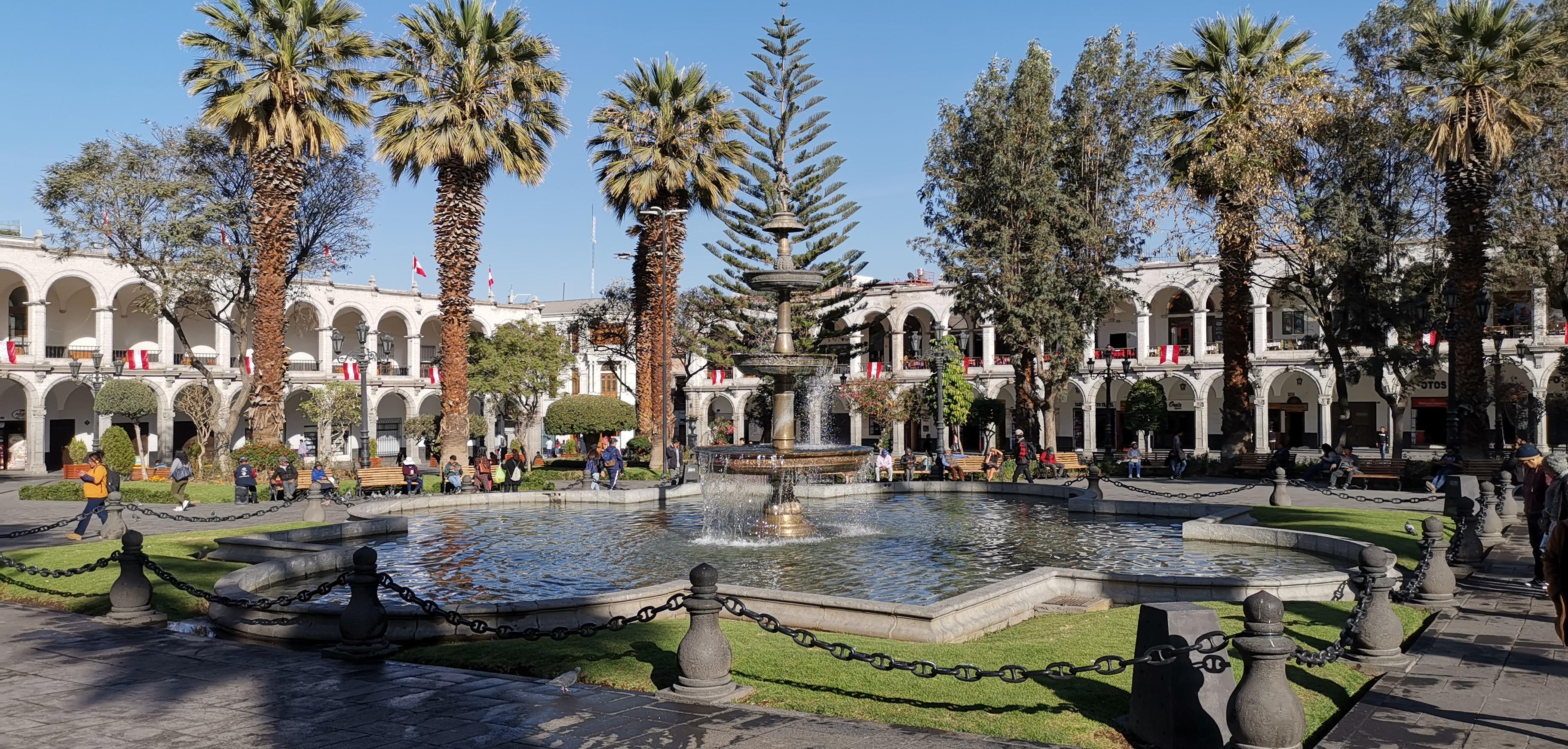 Arequipa, a fehér város