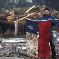 Chile romokban