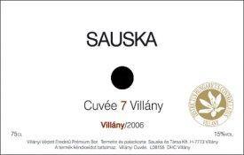 Sauska Cuvée 7 Villány 2006
