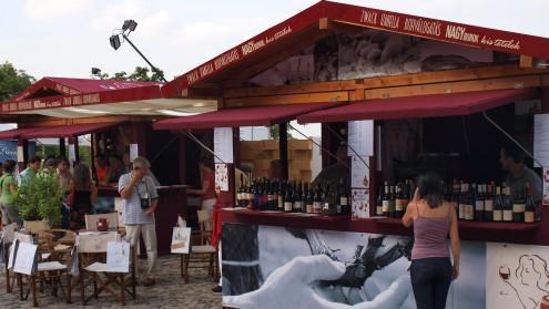 Borfesztivál2008, Zwack stand